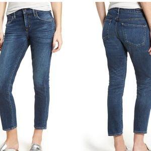 COH premium vintage elsa mid rise slim crop jeans